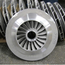 Cast Steel and Machined Pump Impeller