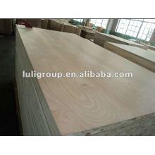 Lightweight Indonesia Falcata Core Okoume Faced Block Board