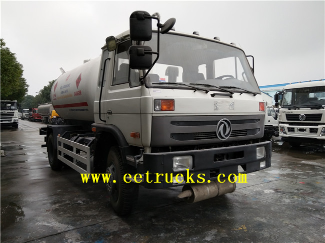 10000 Liters LPG Gas Cylinder Filling Trucks