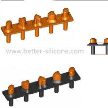Teclados de caucho de silicona Dual Durometer