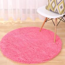 tapis de sol personnalisé en microfibre chenille pvc pour le salon