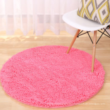 custom microfiber chenille pvc floor mat for the living room