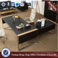 New Design L-Shaped Executive Office Desk with Side Table (Hx-6m065)