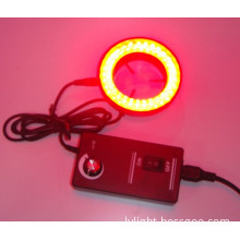 Red light led ring light microsope illuminator