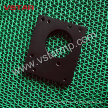 Bakelite Machining of Customized CNC Machine Part with Black Auto Part Aluminum Products Vst-0954