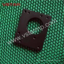Бакелита подвергая механической обработке Подгонянные части машины CNC с черным автозапчастей алюминиевой продукции ВСТ-0954