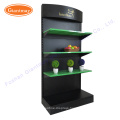 Heavy duty merchandise display racks and stands for hardware store