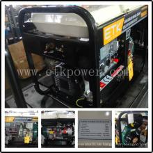 2.5 / 4.6 Kw beweglicher Dieselschweißer-Generator