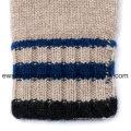Пять-пальцы зима Пашмины перчатки с полосками