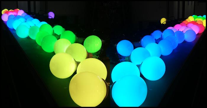 LED RGB Cube DMX512 Program