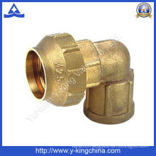 Female Thread Brass Elbow Compression/Spanish Pipe Fitting (YD-6045)