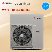 High temperature 9kw 12.9kw Multifunction air source heat pump water heater with heat recovery