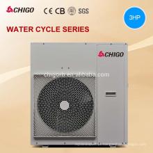 Aquecedor de água Multifunction da bomba de calor da fonte de ar da alta temperatura 9kw 12.9kw com recuperação do calor