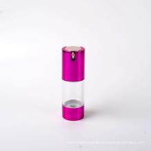 25ml Plastic Airless Pump Bottle with Aluminum U Shape Pump
