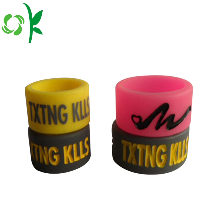 silicone engraved ring
