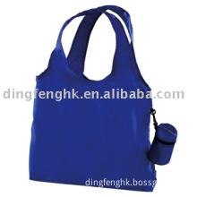 nylon shopping bag,tote bag,fold tote  bag,fold shopping bag