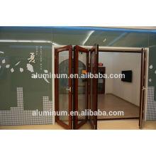 La Chine a fabriqué les portes pliantes les plus basses de haute qualité
