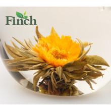 El mejor fabricante de té floreciente en China con sabor a flor de té caliente venta en América