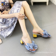 Navy style beach slippers india sexy girls photos sandal shoes 2017