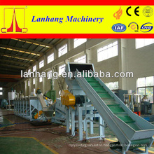 PP PE waste film washing crushing line