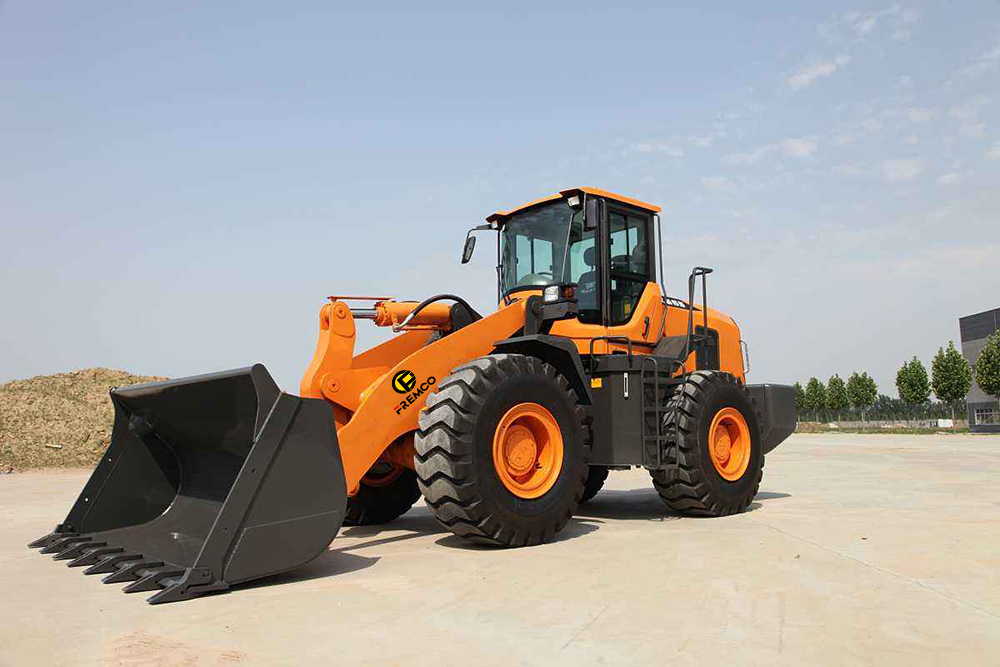 Wheel Loader With Grapple For Sale