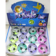 New Design Colorful Football Hi Bounce Glitter Water Ball