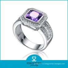 Кольцо с бриллиантами из натурального камня (SH-R0122)