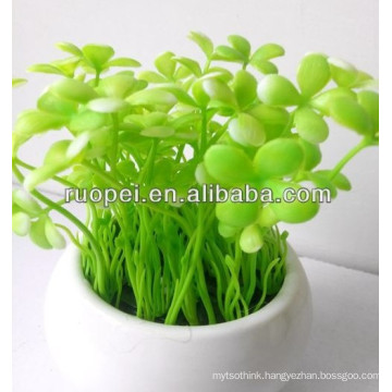 High imitation decorative artificial grass bonsai for decoration
