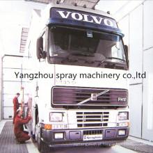 Pode cabine de pulverizador industrial personalizada para o caminhão