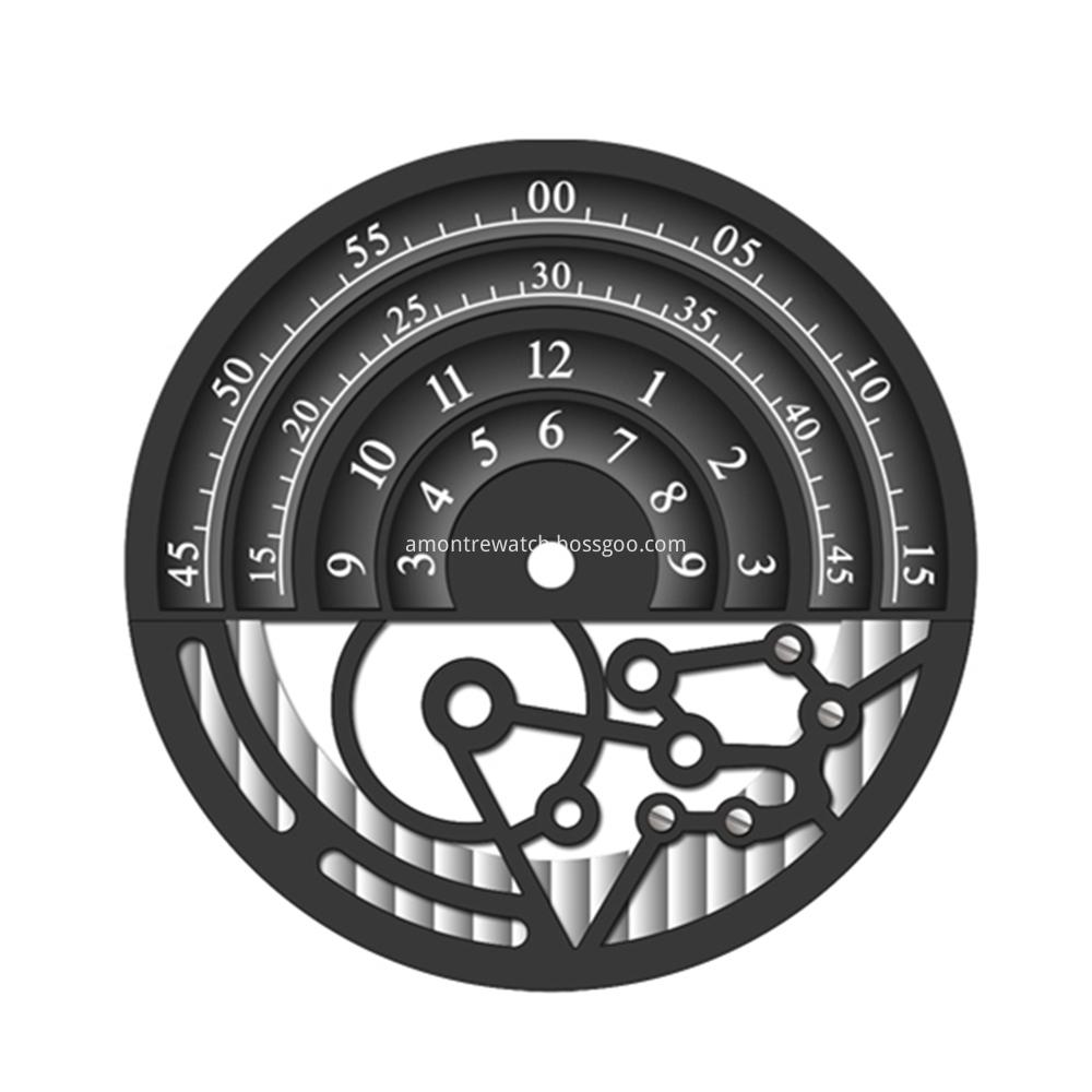 Skeleten Watch Dial