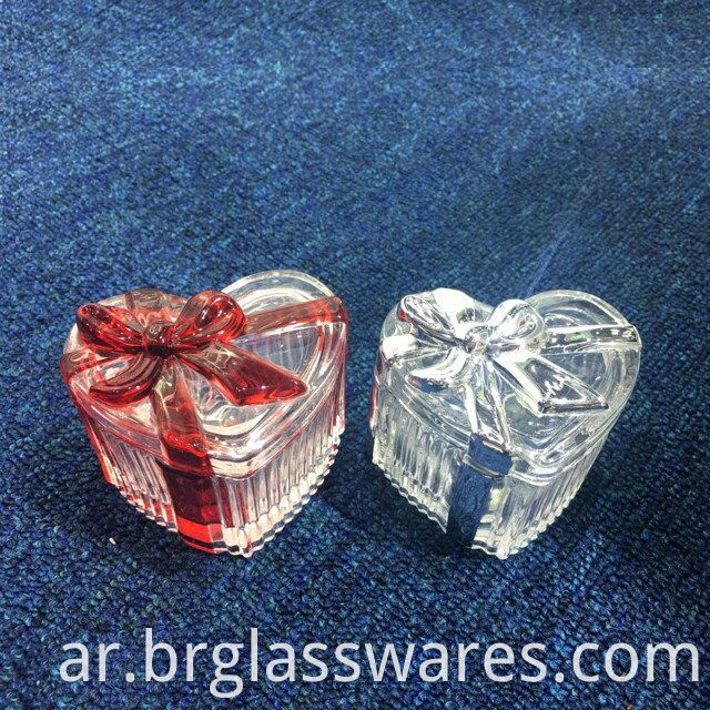 Luxury New Glass Ribbon Trinket