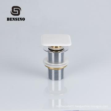 Best sellers bathroom brass basin waste ceramic head bathtub sink pop up stopper drain