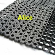 Anti Slip Rubber Mat / Outdoor Rubber Flooring / Drainage Rubber Mat