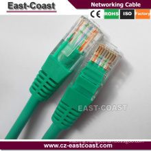 Gold Supplier of Lan cable Cat5e RJ45 to rj45 Ethernet networking cable