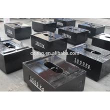 1000kg test weights/cast iron test weights/load test weights