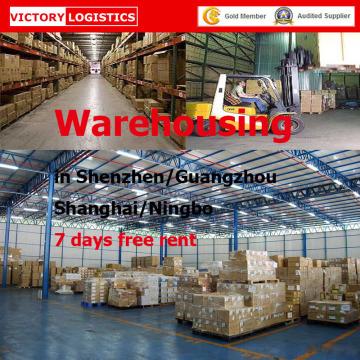 Профессиональные услуги складирования грузов в Шэньчжэне, Гуанчжоу, Шанхай, Китая (хранение на складах)