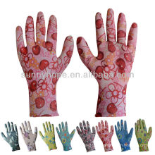 Nitrile coated Gardenining gloves