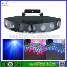7 cabeça disco clube decoração multi luz laser a cores