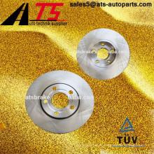 Peças auto OEM 4A0615301C 4A0615301D disco de rotor de freio para AUDI / SKODA