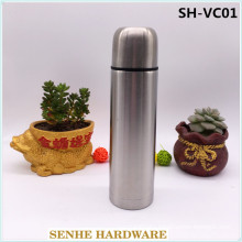 1000ml Double Wall Stainless Steel Vacuum Thermos Flask with 2PCS Lid (SH-VC01)