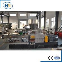 Extrusor de doble husillo de plástico PE / PP