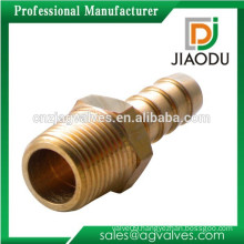 forged double male brass garden water hose fitting