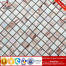 China supply hots products shell mixed Hot - melt mosaic floor tile