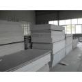 Hoja de plástico rígido gris extruido de PVC