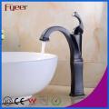 Fyeer Oil Rubber Bronze High Body Cheap Bathroom Copper Faucet