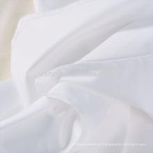 100% algodão 233 contagem de contagem de penas para baixo tecido de marcação de prova para edredon e travesseiro