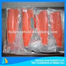 Various sizes frozen wild salmon meat with reasonable price