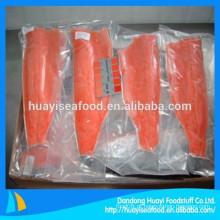 Vários tamanhos de carne de salmão selvagem congelada com preço razoável