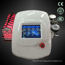 Multifunktionale hd Touchscreen-Display rf Infrarot-Lipo-Laser-Pads Kavitation Maschine TM-905
