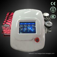 Multifuncional hd pantalla táctil rf láser de rayos infrarrojos láser cavitationmachine TM-905